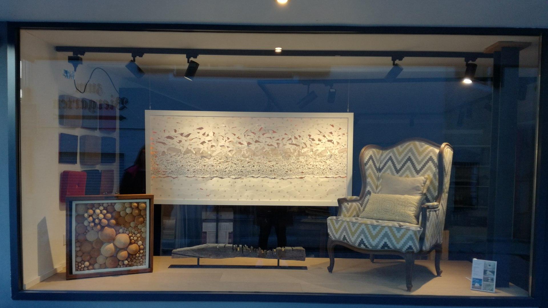 Kunst im Schaufenster, © Lisa Mayerhofer