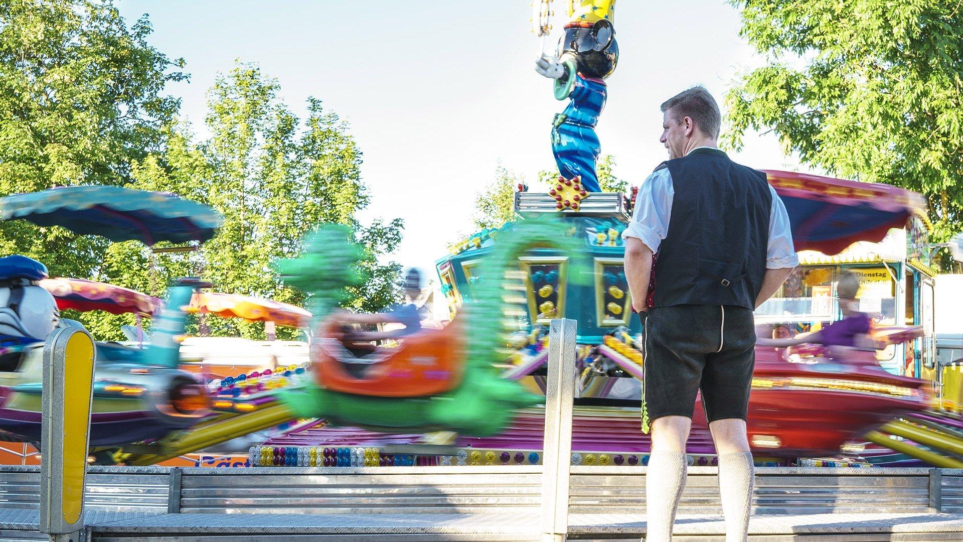 Volksfest Miesbach, © Dietmar Denger