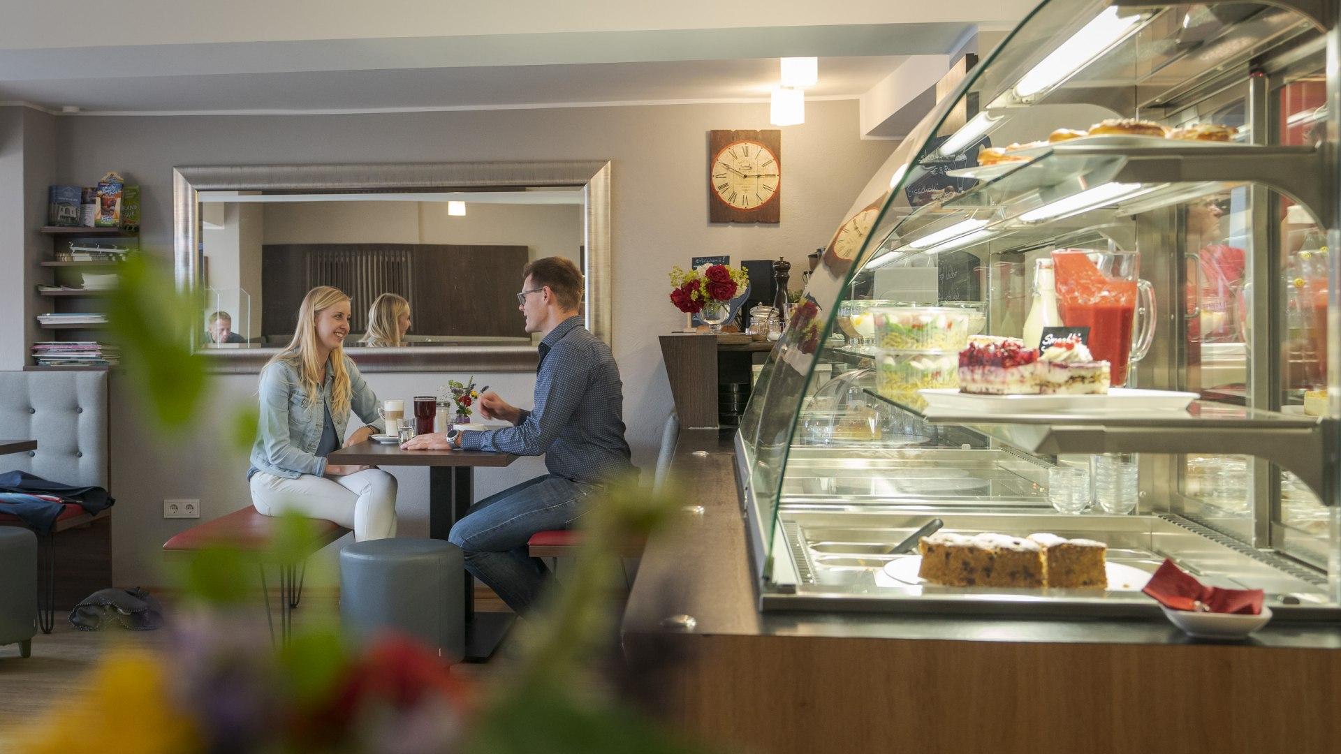 Das Café Huatfabrik von innen, © Dietmar Denger