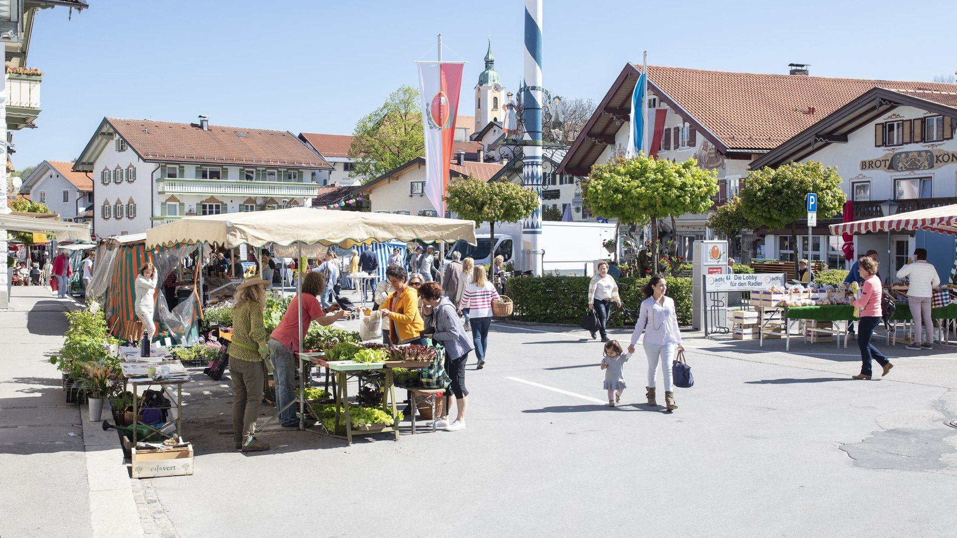 Wochenmarkt_Miesbach_Florian Bachmaier_2019, © Kulturamt der Stadt Miesbach